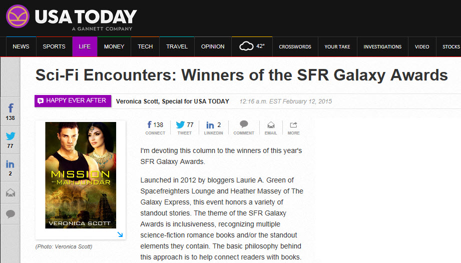 Sci-Fi Encounters--USAToday