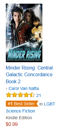 Minder Rising is a Best Seller
