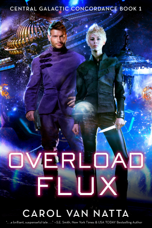 Overload Flux, a space opera romance