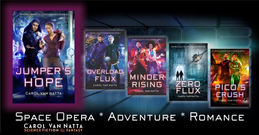 Central Galactic Concordance series by Carol Van Natta featuring Jumper's Hope Showcase