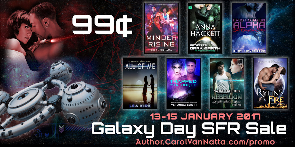 Galaxy Day SFR Sale - buy a 99-cent book today!