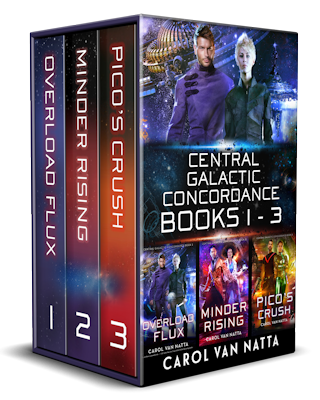 Central Galactic Concordance Collection, Books 1-3 cover