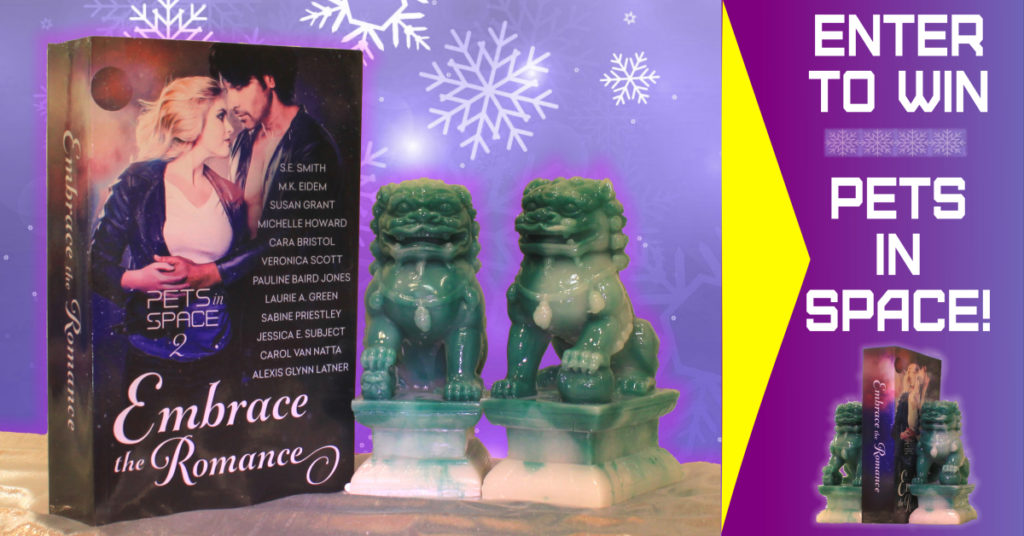 enter to win a book and bookends