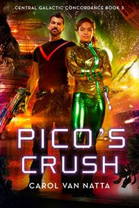 Pico's Crush features a woman in science who loves a good explosion