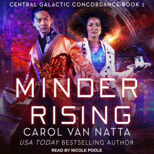 Minder Rising Is Now an Audiobook
