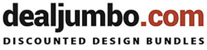 Deal Jumbo logo - click to get discounted design bundles with extended licenses