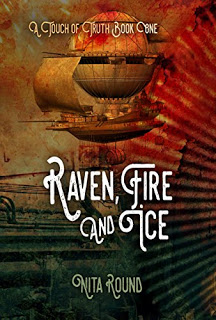 2018 SFR Galaxy Awards winner - cover for Raven, Fire and Ice