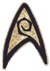 evolution of space opera - star trek badge for sciences