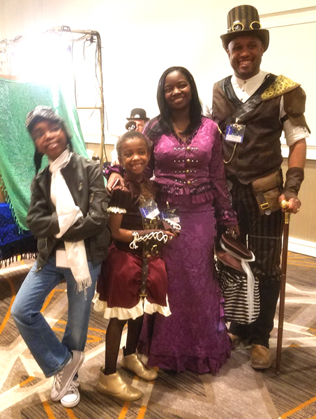 things I learned at Whimsy Con - steampunk family