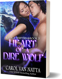 photo of Heart of a Dire Wolf paperback