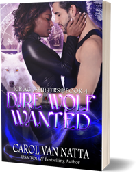 photo of Dire Wolf Wanted paperback
