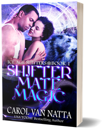 photo of the Shifter Mate Magic paperback book