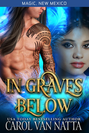 Cover for IN GRAVES Below - click to buy directly from Carol's website