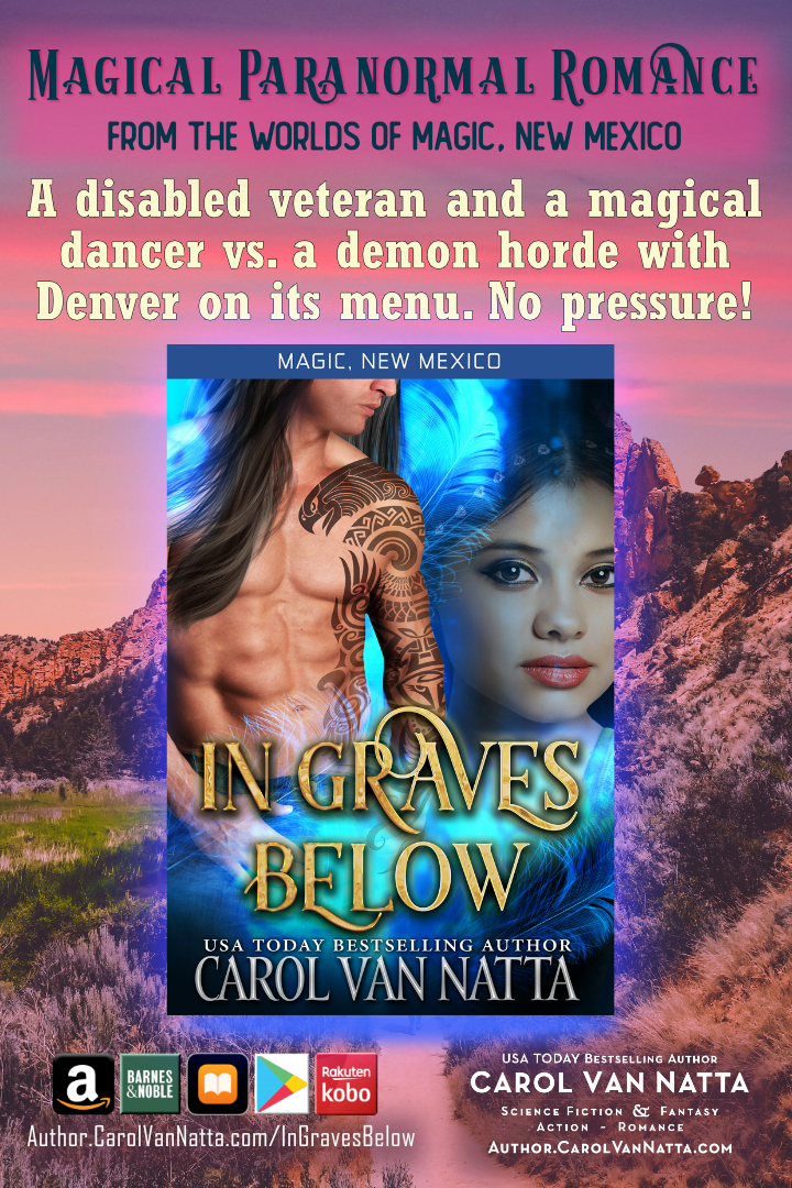 In Graves Below is magical paranormal romance