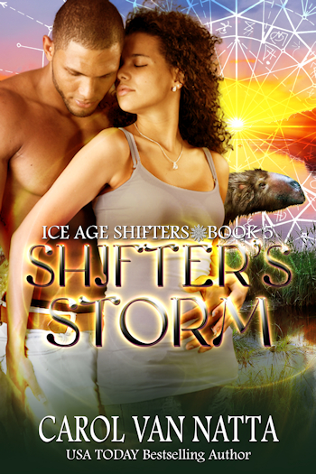 Shifter's Storm new release in the Ice Age Shifters series)