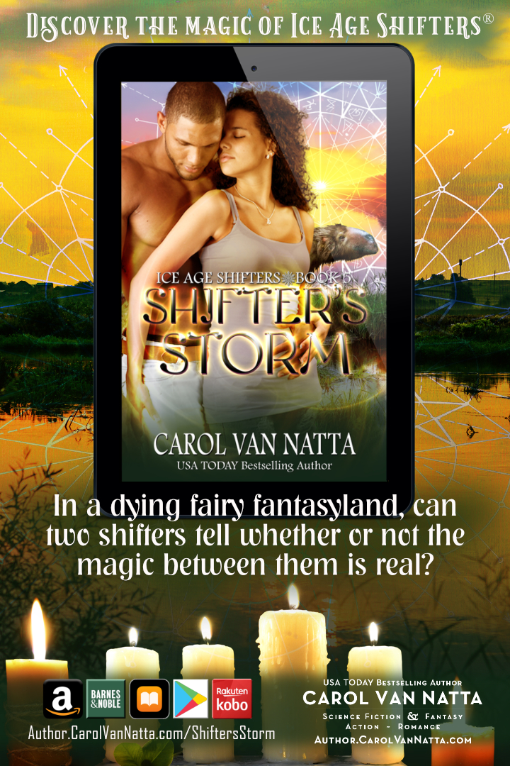 Read hot paranormal romance in SHIFTER'S STORM in the bestselling Ice Age Shifters® series