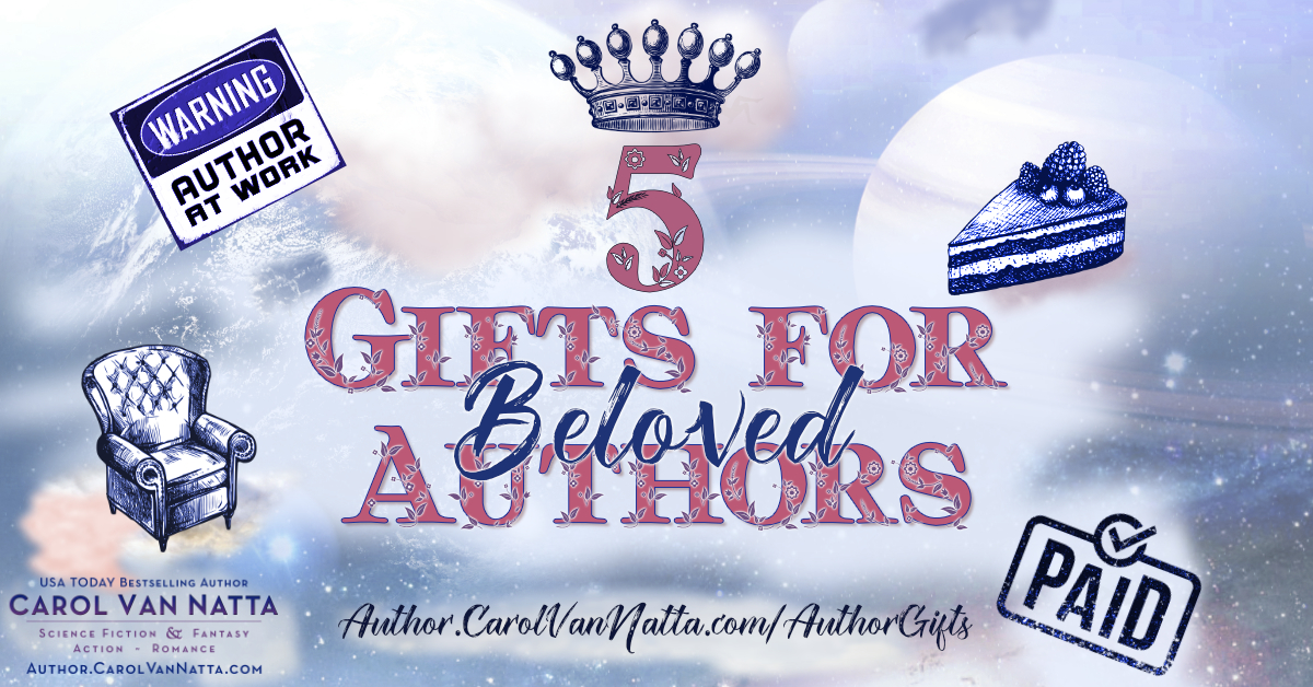 5 gift ideas for authors