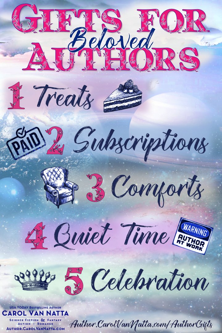 5 gifts for authors any time of year