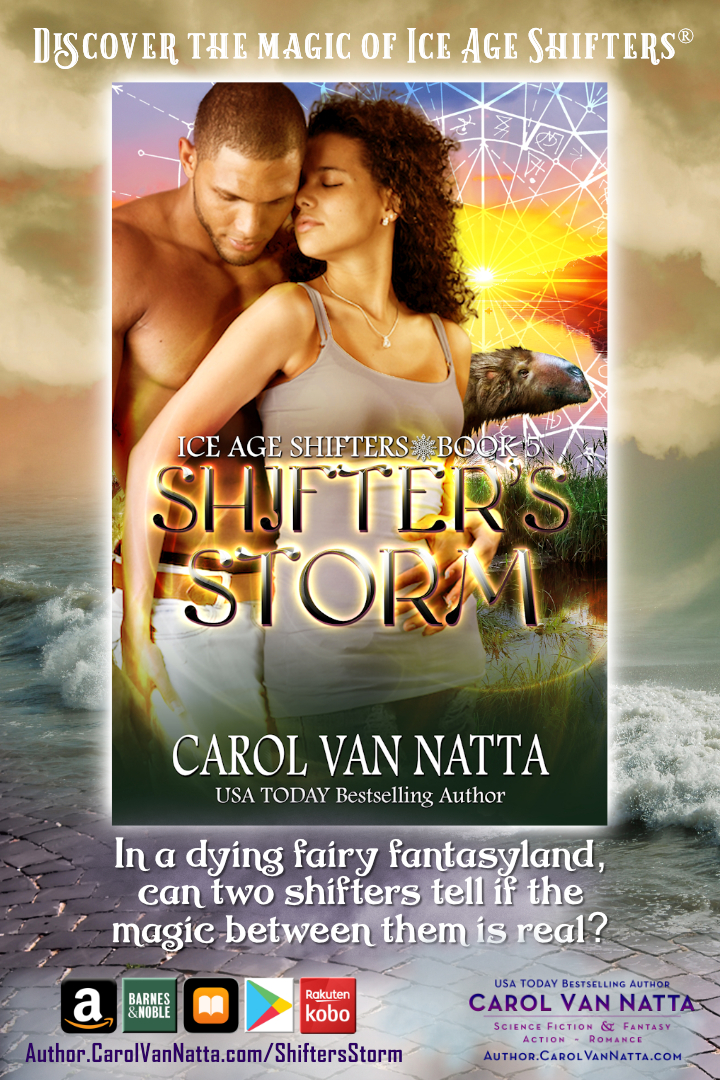 Magical paranormal romance in SHIFTERS STORM - read an excerpt from the book