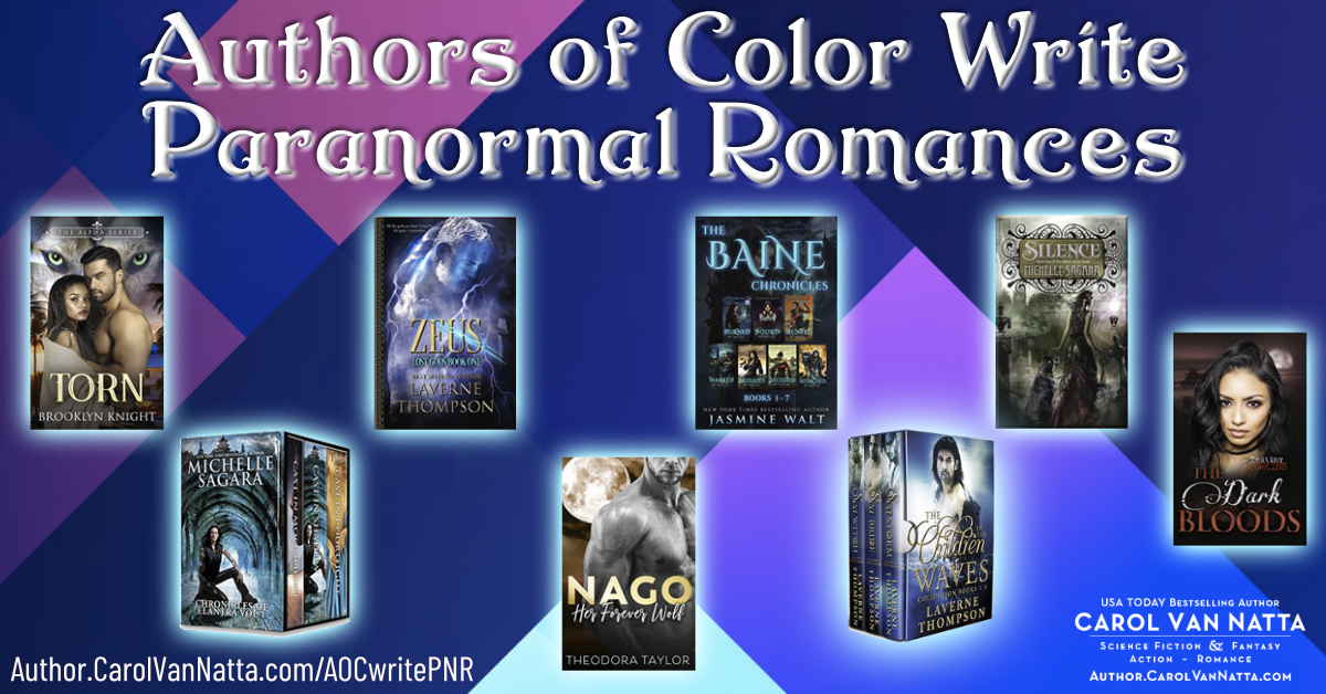 Authors of Color Write Paranormal Romances