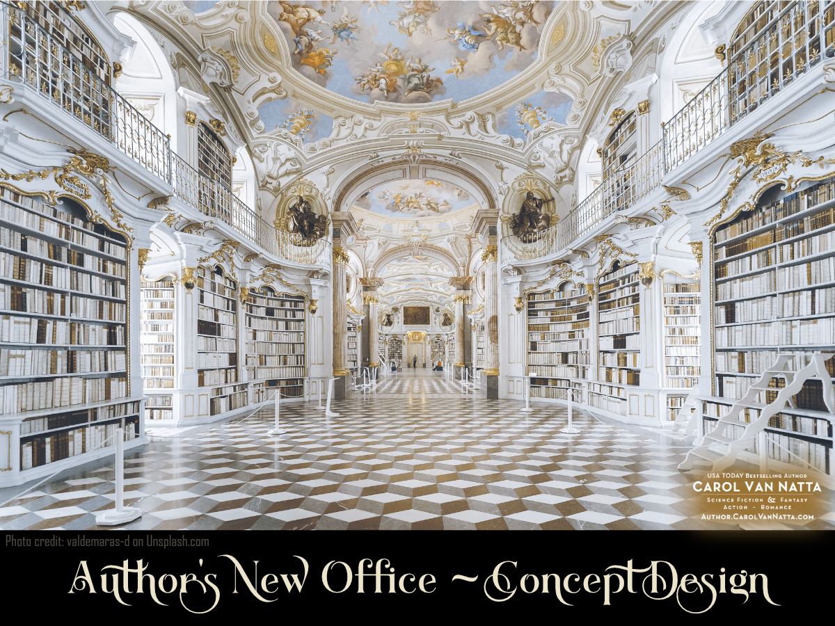 Concept Design for Author's Office - remodeling plans for 2020