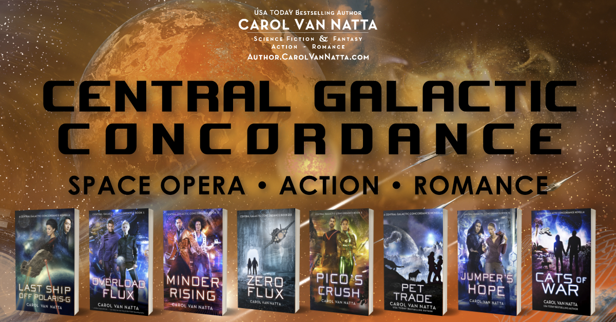 Central Galactic Concordance space opera series features habitable planets