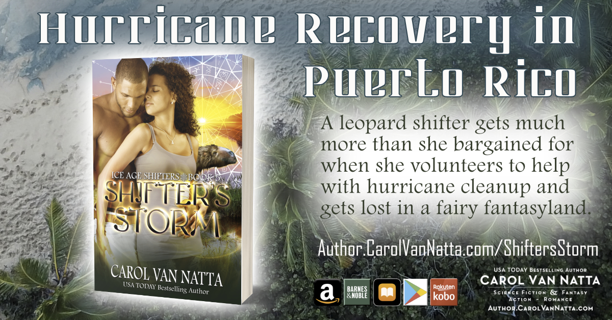 Hurricane Recovery in Shifters Storm paranormal romance