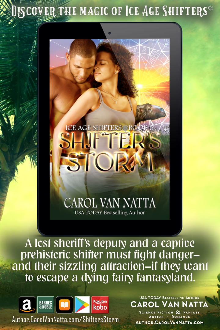 Read an excerpt from Shifters Storm, an Ice Age Shifters paranormal romance