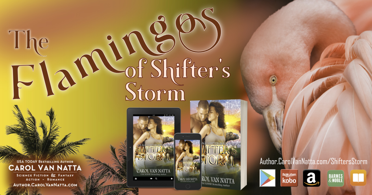 Flamingos are Delightful in SHIFTERS STORM