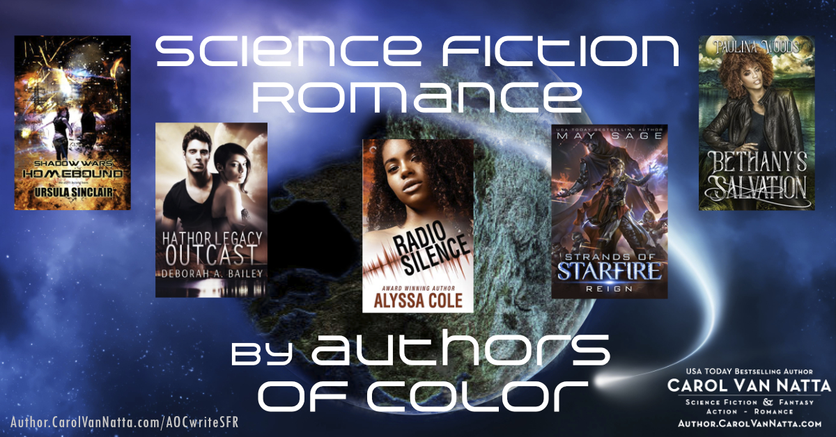 authors of color write scifi romance