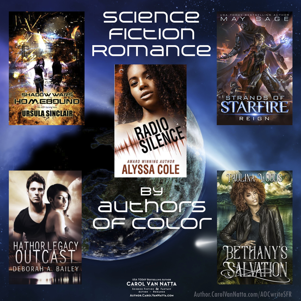 scifi romances by authors of color