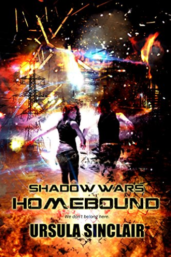 Shadow Wars Homebound by Ursula Sinclair, a scifi romance