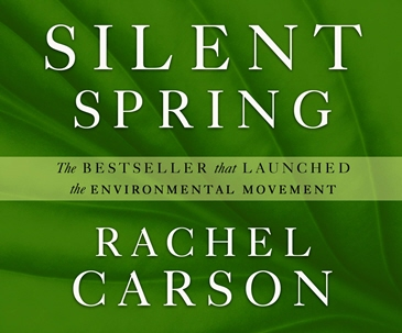 Cover art for Silent Spring by Rachel Carson
