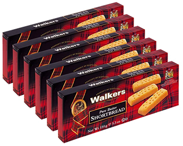 Walkers Shortbread for living in pandemic times
