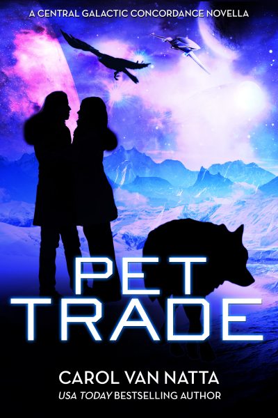 Pet Trade, a SciFi Space Opera Romance with Cyborgs, Adventure, and Pets