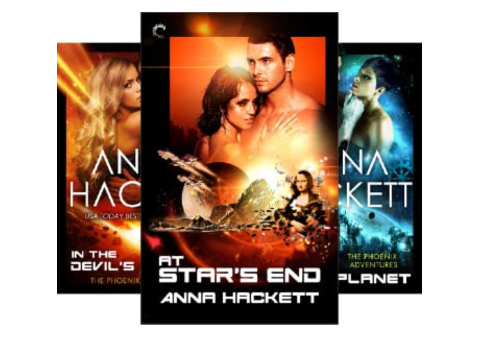 Anna Hacket's Phoenix Adventures series. Favorite paranormal theme - enemies to lovers