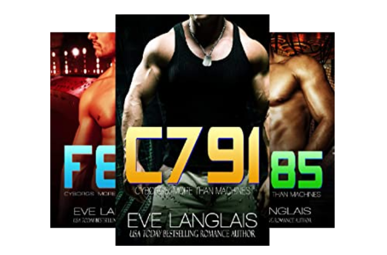 Eve Langlais' More Than Machines series adds paranormal romance themes in science fiction romance