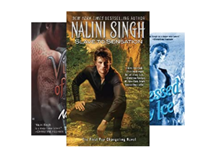 Nalini Singh's Psy-Changeling series - favorite them for science fiction romance - enemies to lovers