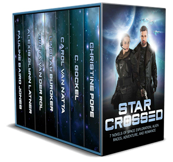Photo of the Star Crossed anthology for gift giving
