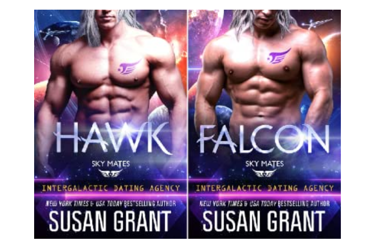 Susan Grant's Sky Mates Series - fated mates - science fiction romance favorite theme
