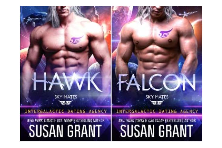 Susan Grant's Sky Mates Series - fated mates - science fiction romance favorite theme