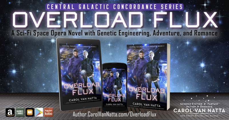 Overload Flux in ebook, paperback, and audio